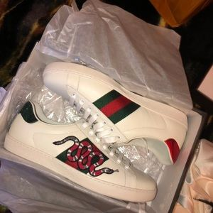 Other - Gucci Ace Sneakers Snakes